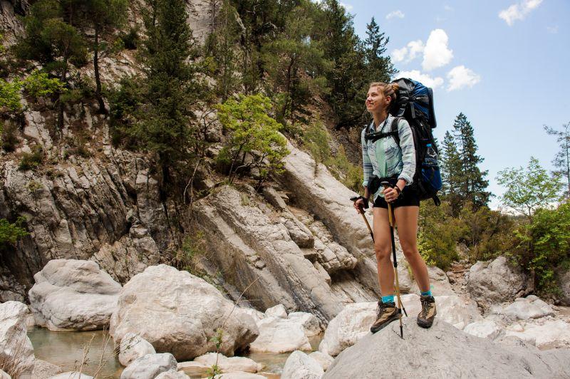 Obuv na ľahkú turistiku a rekreačné prechádzky