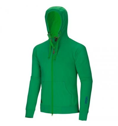 Ocún, CORSO HOODIE men - Grass green, XL