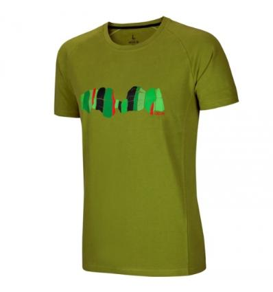 Ocún, ASAI TEE men - Pond green, S