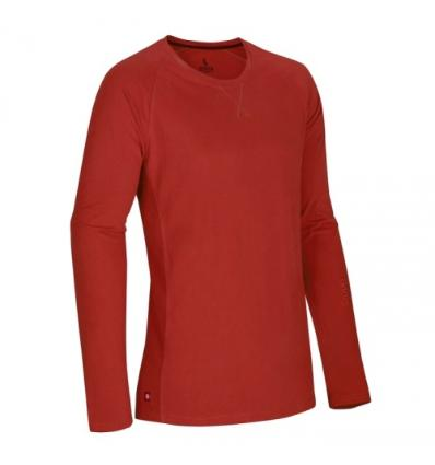 Ocún, DIO LONG SLEEVE men - Clay red, L