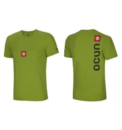 Ocún, LOGO TEE men - Pond green, M