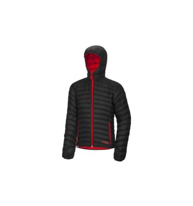 Ocún, TSUNAMI DOWN JACKET men - Black/Red, L