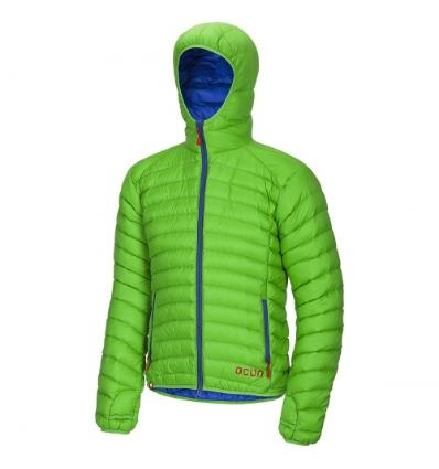 Ocún, TSUNAMI DOWN JACKET men - Green/Blue, XXL
