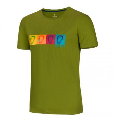 Ocún, POP ART TEE men - Pond green, S