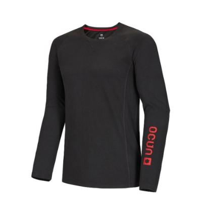 Ocún, Kikko LONG SLEEVE men - Anthracite, L