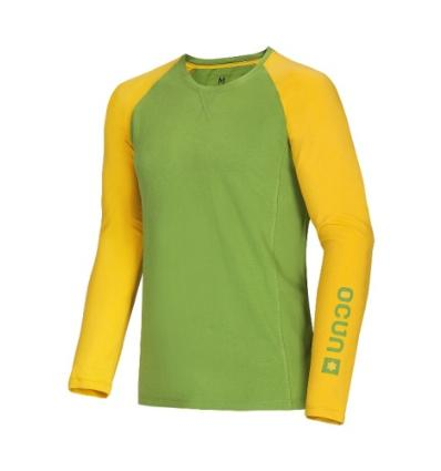 Ocún, Kikko LONG SLEEVE men - Pond green, L