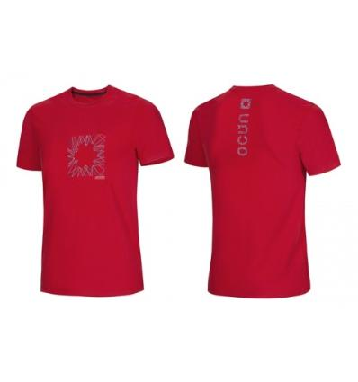 Ocún, Dash TEE men - Apple red, S