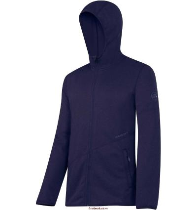 Mammut, Go Far Hooded Jacket Men, EU XL, indigo mélange