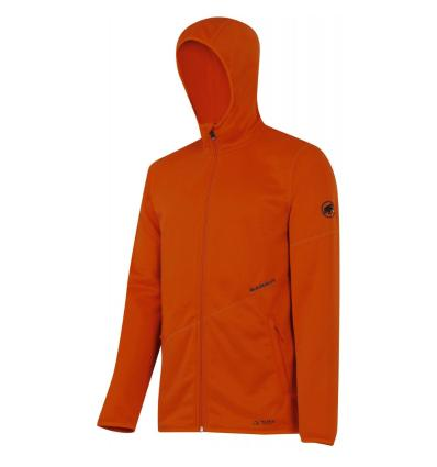 Mammut, Go Far Hooded Jacket Men, EU L, dark orange melange