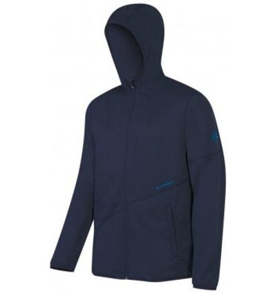 Mammut, Go Far Hooded Jacket Men, EU S, marine melange