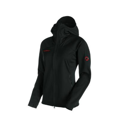 Mammut, Ultimate Hoded Woman, EU XL, black - black