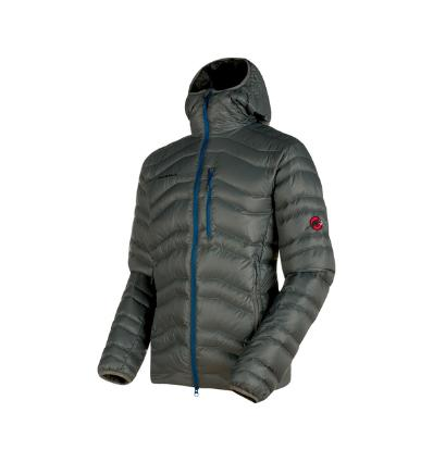 Mammut, Broad Peak IN Hooded Jacket Men, EU L, titanium-ultramarine