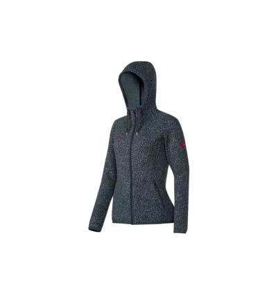 Mammut, Kira Tour ML Hooded Jacket Women, EU S, graphite