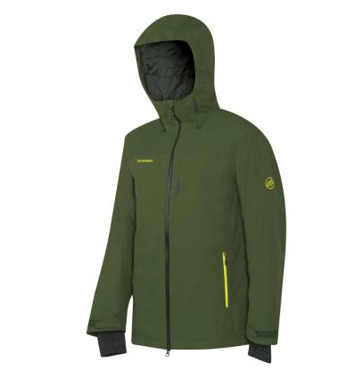 Mammut, Bormio HS Hooded Jacket Men, EU L: seaweed