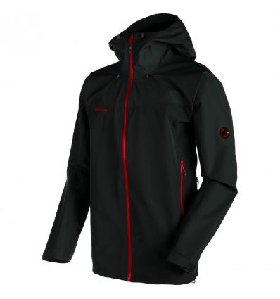 Mammut, Crater HS Hooded Jacket Men, EU XL: black