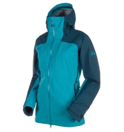 Mammut Luina Tour HS hooded jckt wmn S: orion aqua