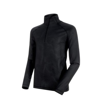 Mammut Snow ML Half Zip Pull Men EU XL / black-black