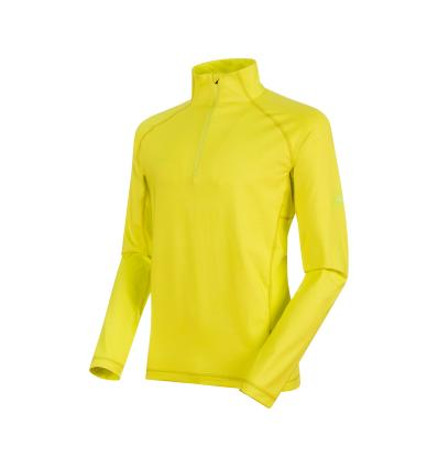 Mammut Snow ML Half Zip Pull Men EU M / canary