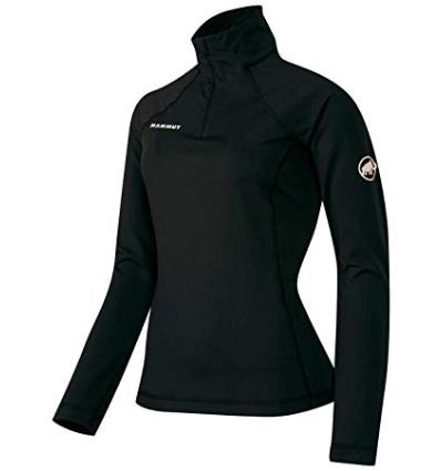 Mammut Snow ML Half Zip Pull Women EU L / black