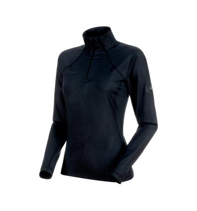 Mammut Snow ML Half Zip Pull Women EU S / black-black