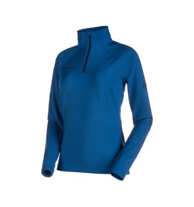 Mammut, Snow ML Half Zip Pull Women, EU L, ultramarine
