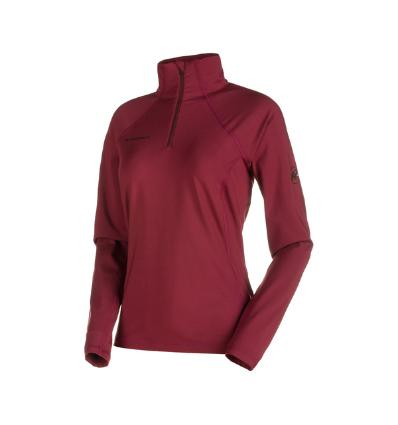 Mammut, Snow ML Half Zip Pull Women, EU XS, merlot