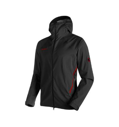 Mammut, Ultimate Alpine SO Hooded Jacket Men, EU XL: black