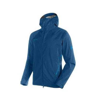 Mammut, Ultimate Alpine SO Hooded Jacket Men, EU S: orion