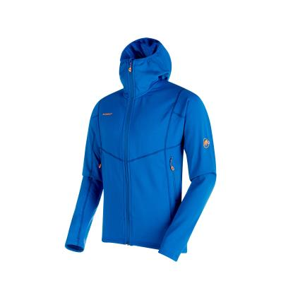 Mammut Eiswand Advanced ML Hooded Jacket Men EU XL / Ice
