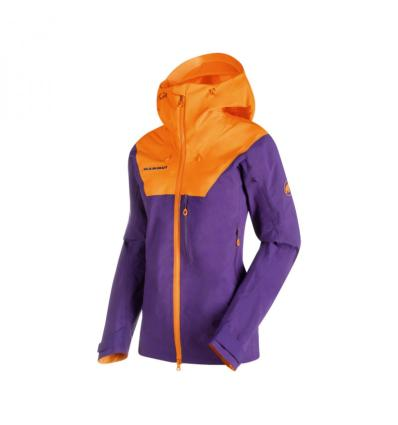 Mammut Nordwand Pro HS Hooded Jacket Women M: dawn-sunrice