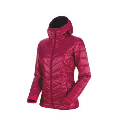 Mammut Rime IN Hooded Jacket Women EU XS / beet-phantom
