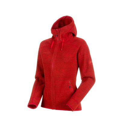 Mammut Arctic ML Hooded Jacket Women EU S / magma-phantom melange