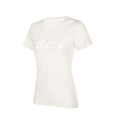 Mammut Seile T-Shirt Women EU S / bright white PRT1