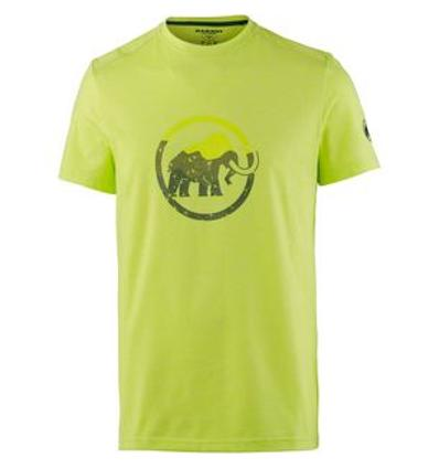 Mammut Trovat T-Shirt Men EU XL - canary melange