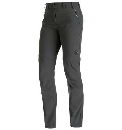 Mammut, Runje Zip Off Pants Women, graphite, 34