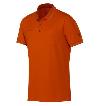 Mammut, Michener Polo Shirt Men, EU L, Dark Orange