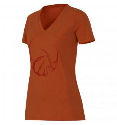 Mammut, Zephira T-Shirt Women, EU L, dark orange melange