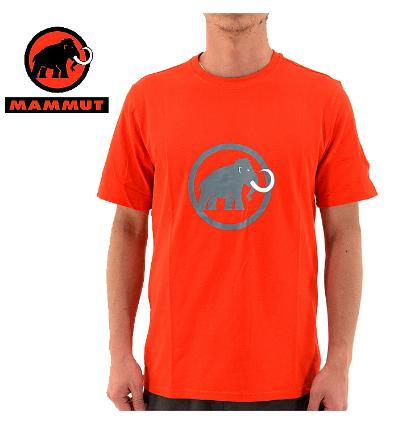 Mammut, Mammut Logo T-shirt Men, EU XXXL, dark orange