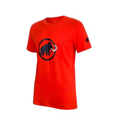Tričko Mammut Logo T-Shirt Men EU L / dar orange-marine