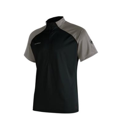 Mammut, Atacazo Light Zip T-shirt, EU XL, black-titanium