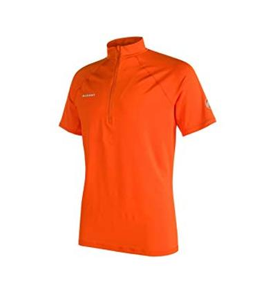 Mammut MTR 141 Half Zip T-Shirt Men EU M / dark orange