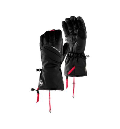 rukavice, Mammut, Meron Thermo 2 IN 1 Glove / Mountaineering, EU 6 - black
