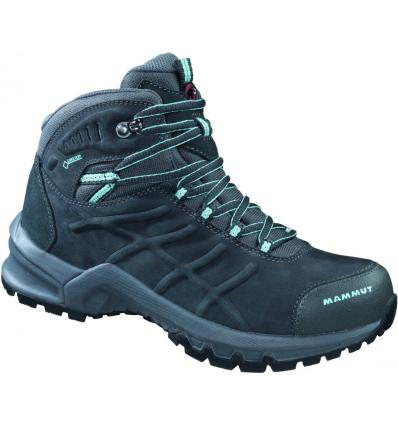 Mammut, Nova Mid II GTX wmn, UK 4, graphite light carribean