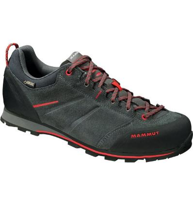Mammut, Wall Guide Low GTX Men, UK 11, graphite inferno