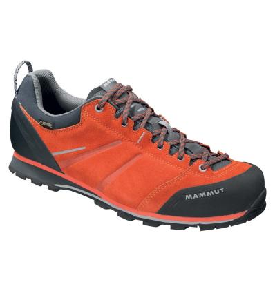 Mammut, Wall Guide Low GTX Men, UK 12, dark orange natural grey
