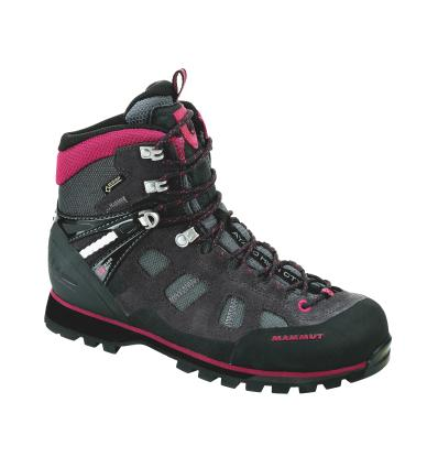 OBUV Mammut Ayako High GTX Women UK 6/ dark tita.-dark pink