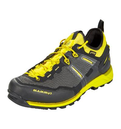 Obuv Mammut Alnasca knit low GTX Men UK 8 / black-citron