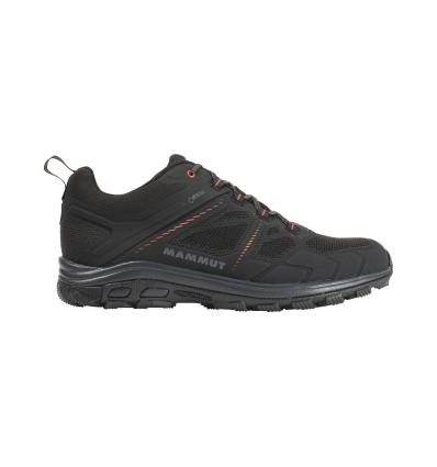 Obuv Mammut Osura Low GTX Men UK 7,5 / black-phantom