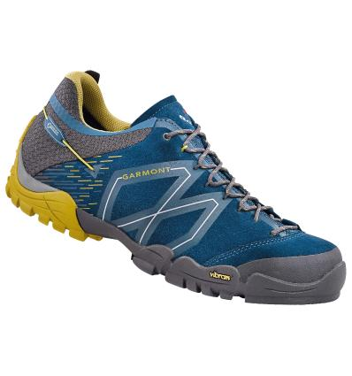 Obuv, GARMONT, Sticky Stone GTX, UK 7,5: Night blue-dark yellow