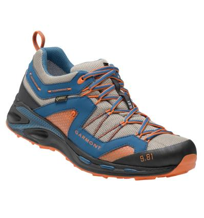 GARMONT, 9.81 Trail Pro III GTX, UK 10: night blue dark orange